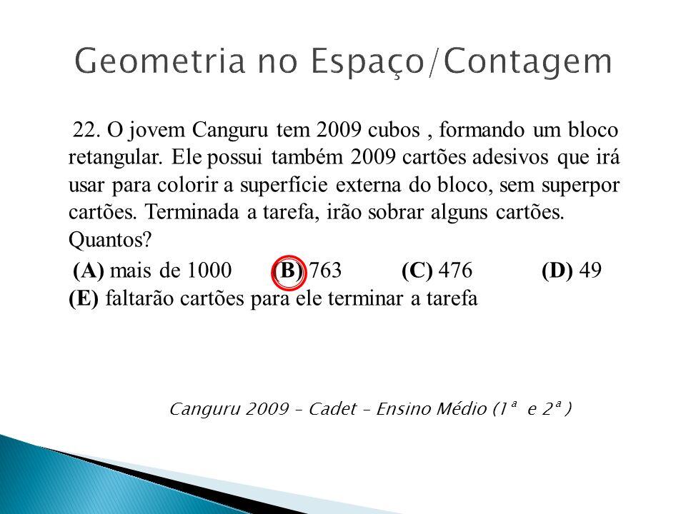 Geometria no Espaço/Contagem