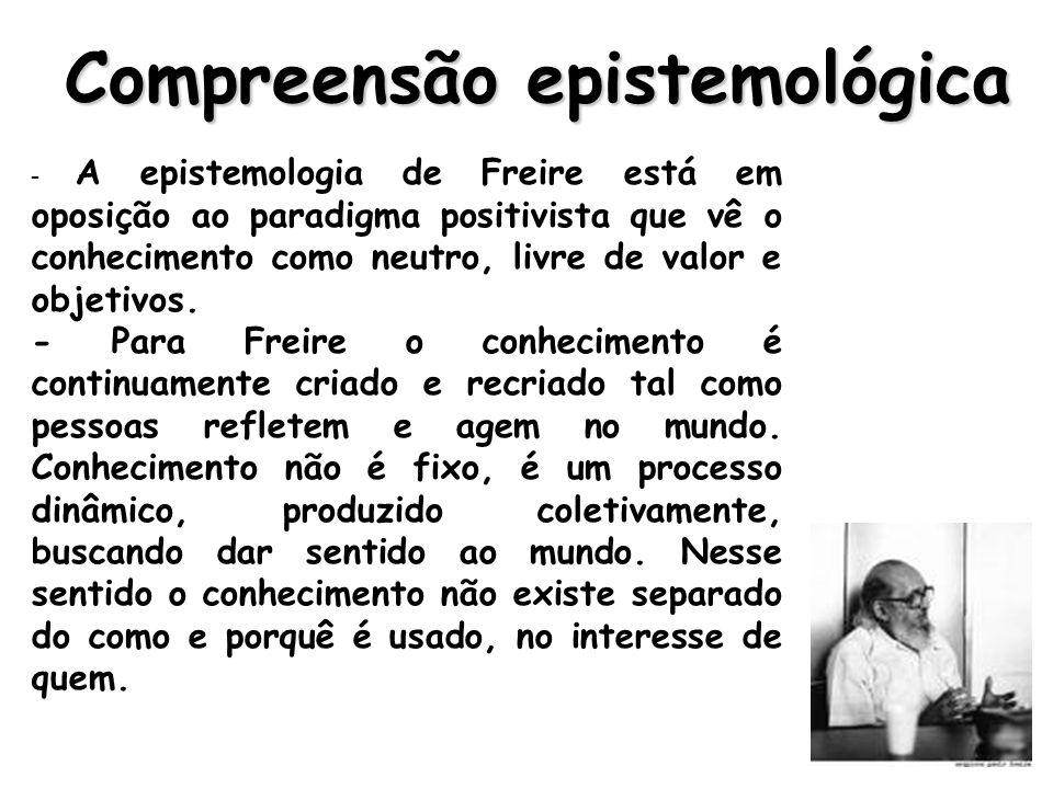 Compreensão epistemológica