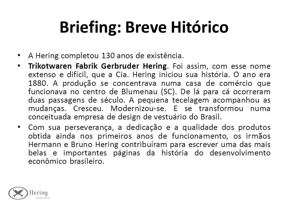 Briefing: Breve Hitórico