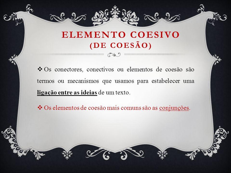 Elemento coesivo (de coesão)