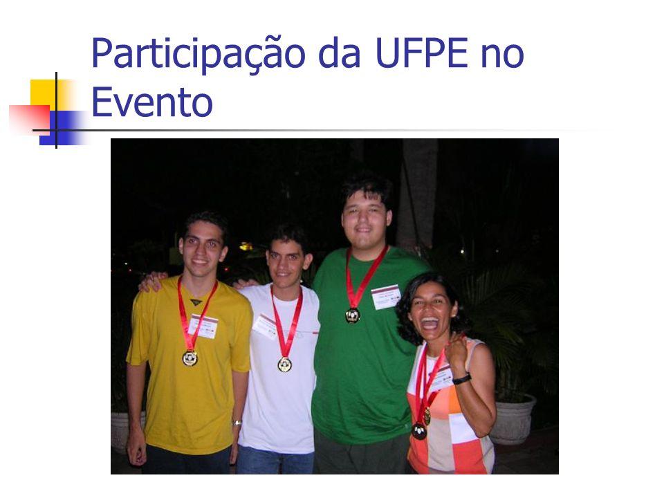 Participação da UFPE no Evento