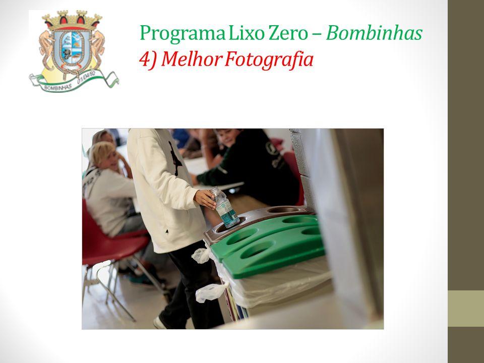 Programa Lixo Zero – Bombinhas 4) Melhor Fotografia