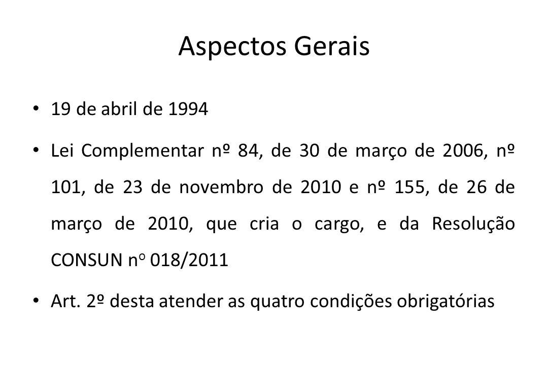 Aspectos Gerais 19 de abril de 1994