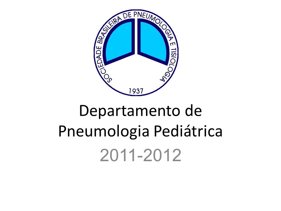 Departamento de Pneumologia Pediátrica