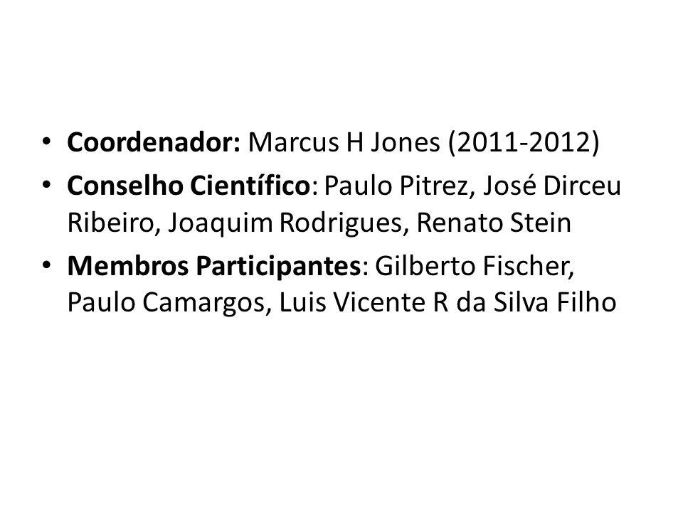 Coordenador: Marcus H Jones (2011-2012)