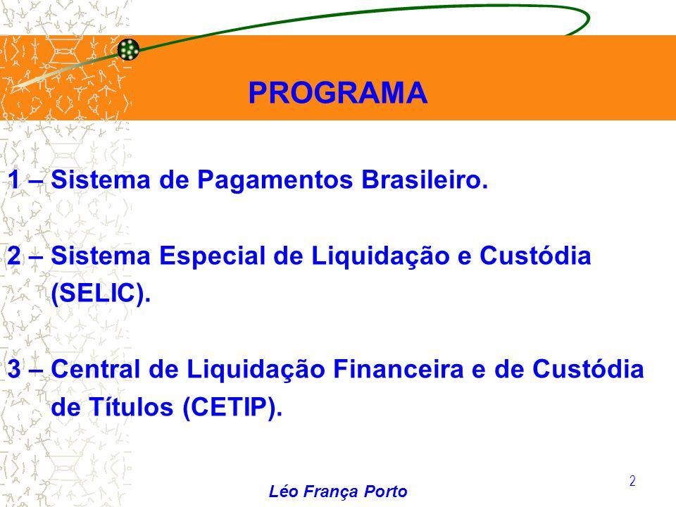 PROGRAMA 1 – Sistema de Pagamentos Brasileiro.