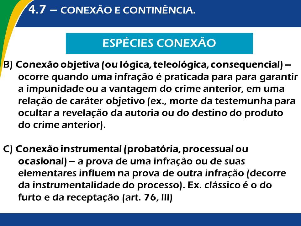 4.7 – CONEXÃO E CONTINÊNCIA.