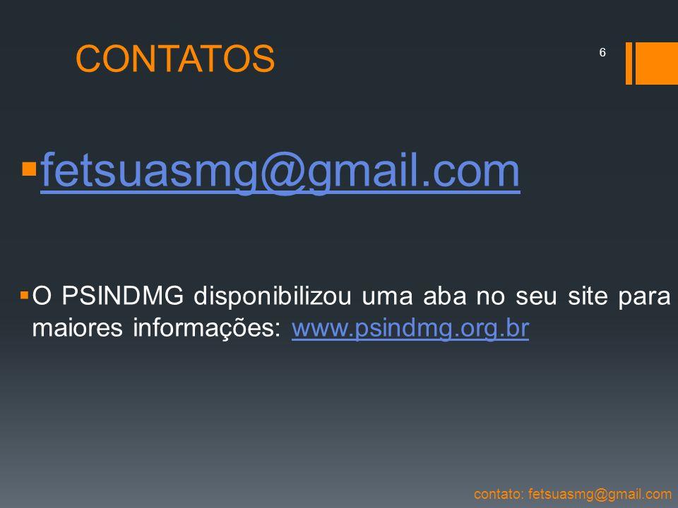 fetsuasmg@gmail.com CONTATOS