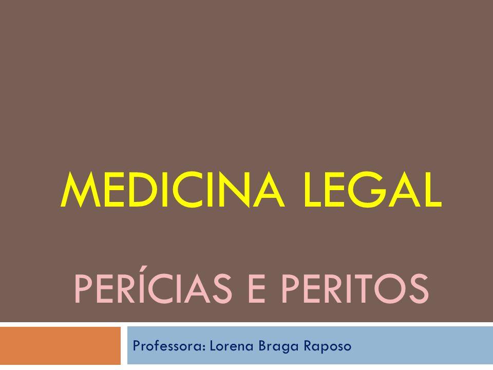 Medicina Legal Perícias e peritos