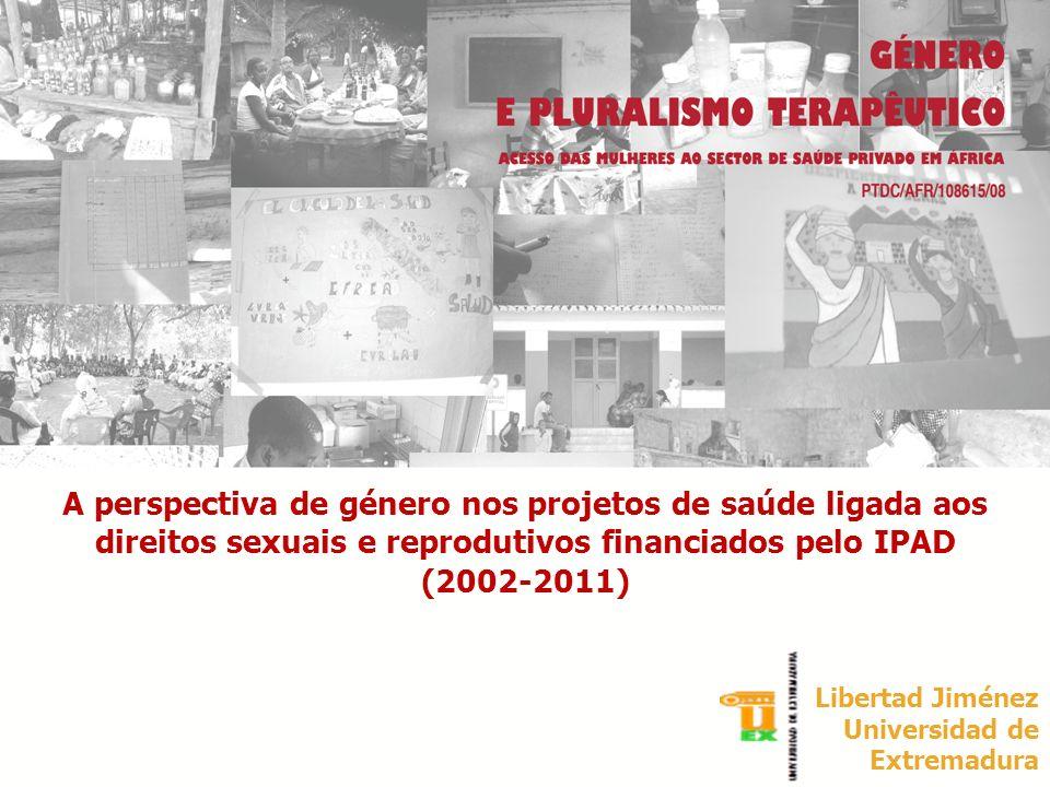 A perspectiva de género nos projetos de saúde ligada aos direitos sexuais e reprodutivos financiados pelo IPAD