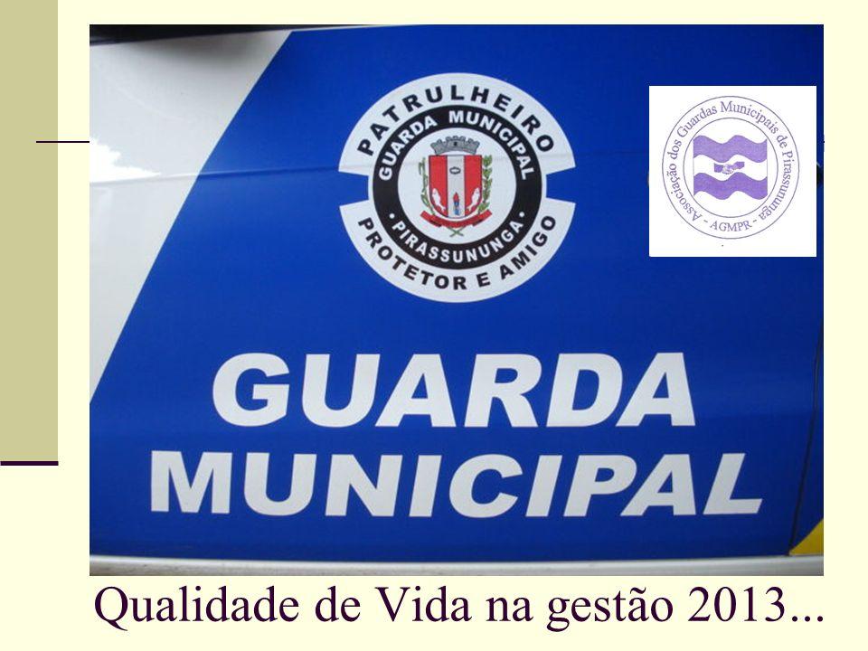 Qualidade de Vida na gestão 2013...