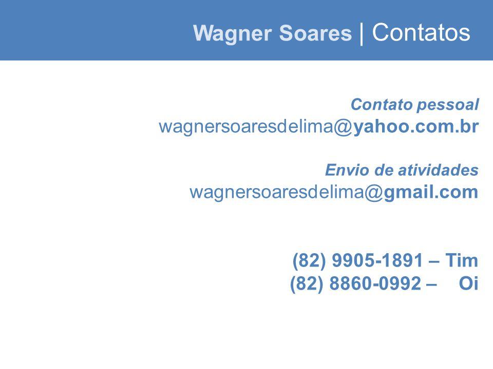Wagner Soares | Contatos