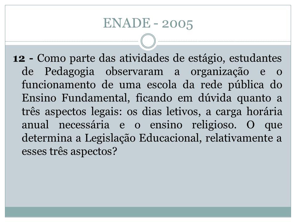 ENADE - 2005