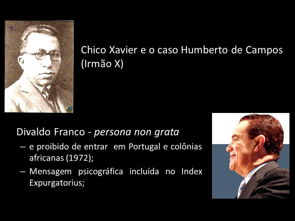Chico Xavier e o caso Humberto de Campos (Irmão X)