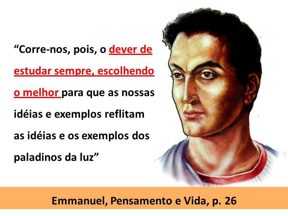 Emmanuel, Pensamento e Vida, p. 26
