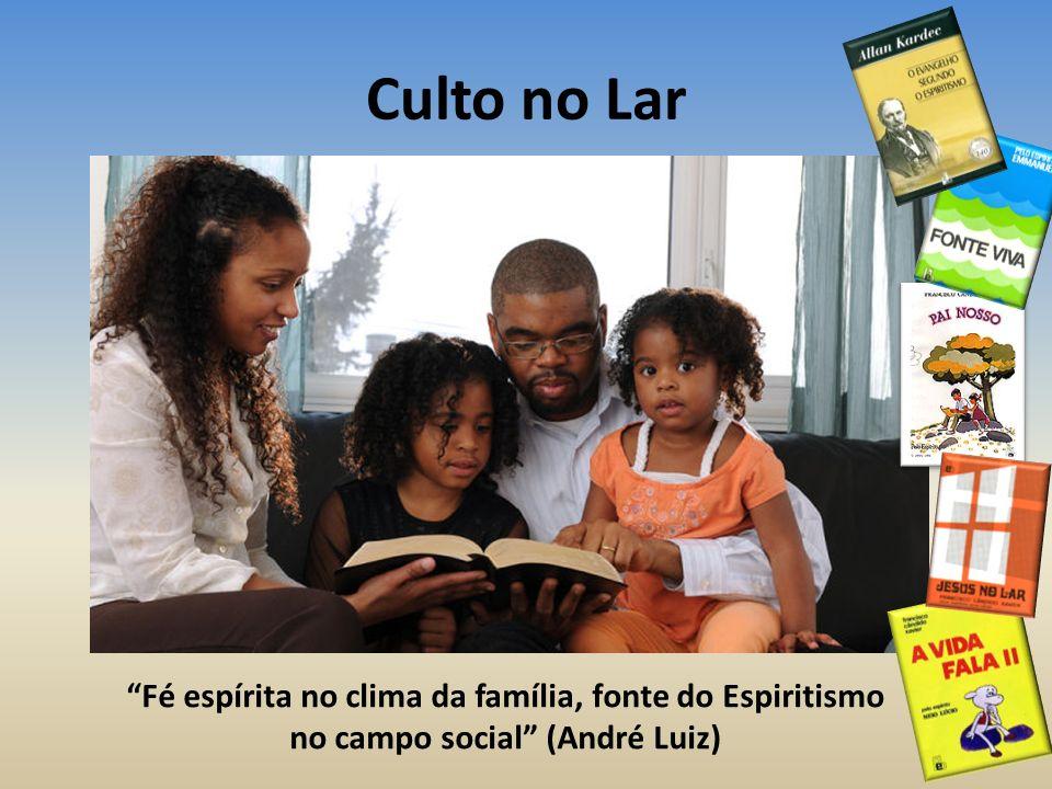 Culto no Lar Fé espírita no clima da família, fonte do Espiritismo