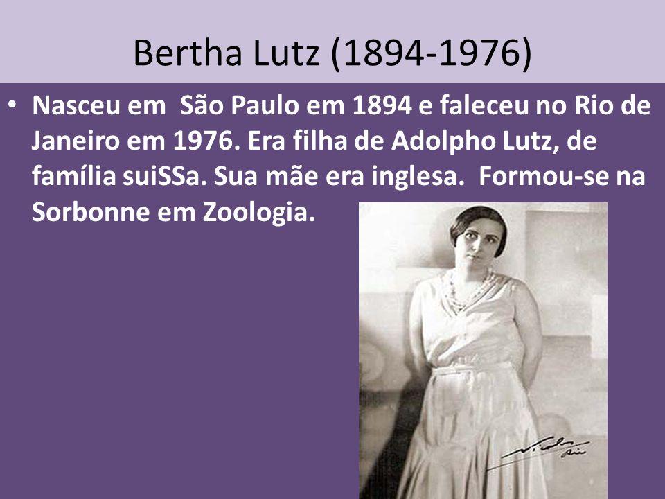 Bertha Lutz (1894-1976)