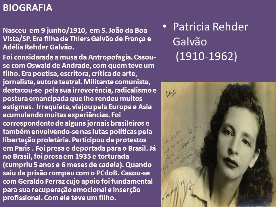 Patricia Rehder Galvão (1910-1962)
