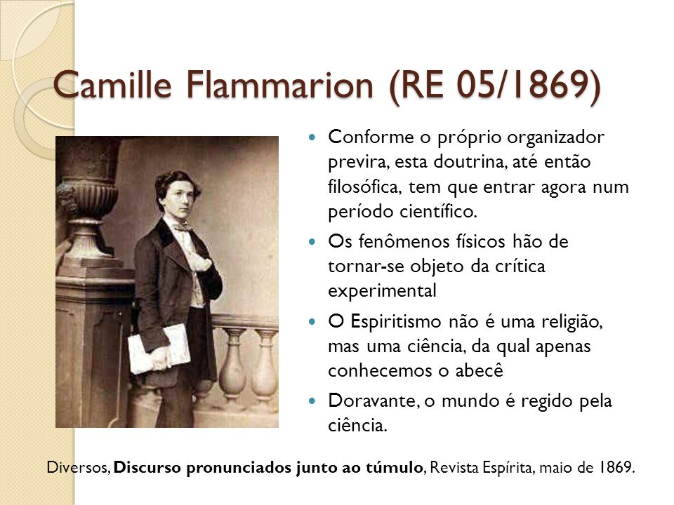 Camille Flammarion (RE 05/1869)