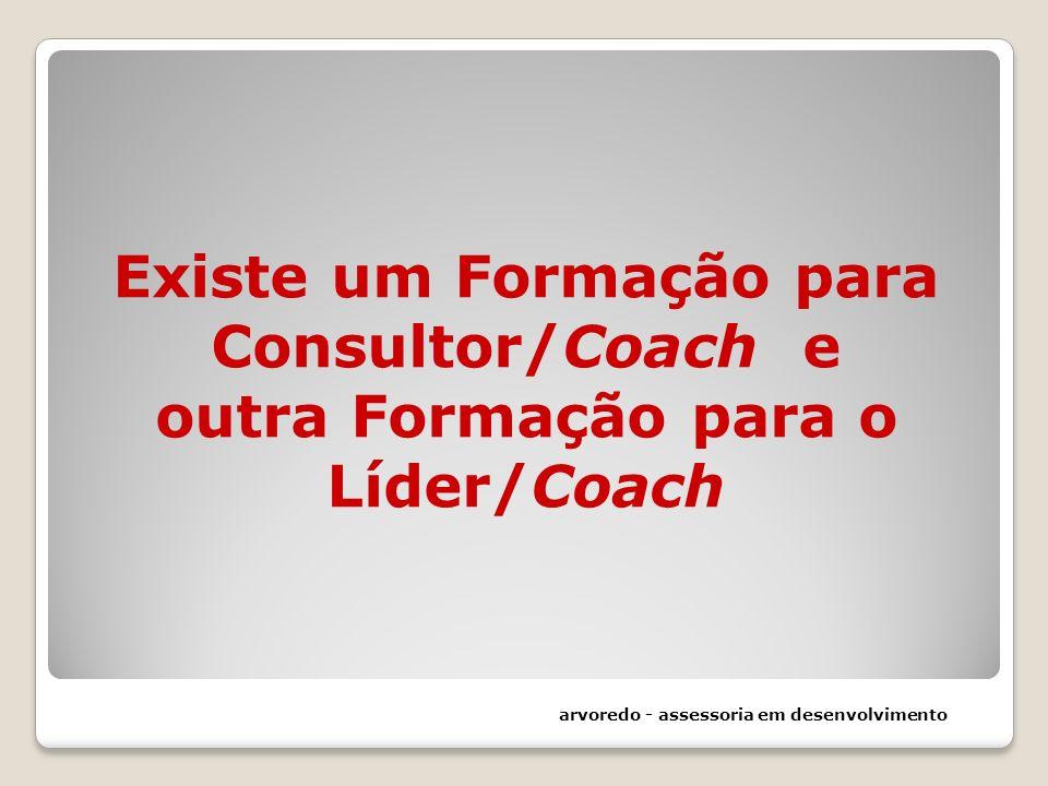 Existe um Formação para Consultor/Coach e outra Formação para o Líder/Coach