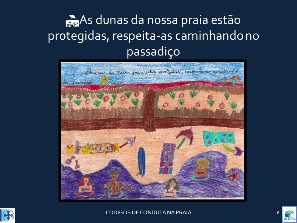 CÓDIGOS DE CONDUTA NA PRAIA
