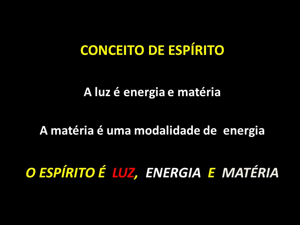 A luz é energia e matéria A matéria é uma modalidade de energia