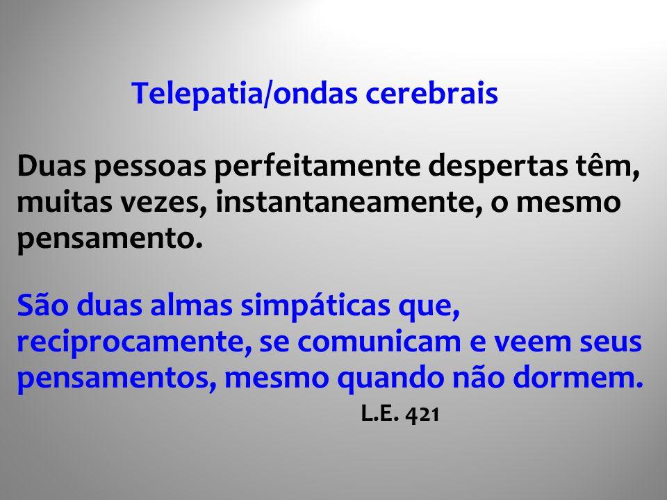 Telepatia/ondas cerebrais