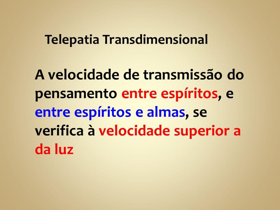 Telepatia Transdimensional