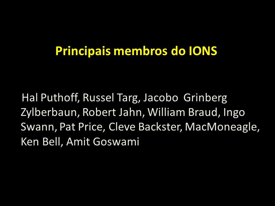 Principais membros do IONS