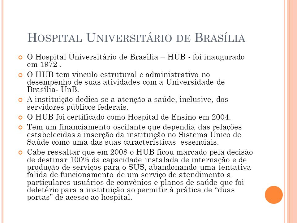 Hospital Universitário de Brasília