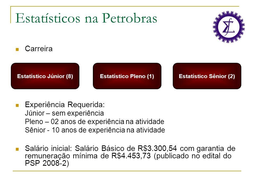Estatísticos na Petrobras