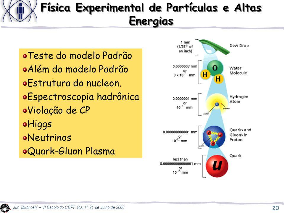 Física Experimental de Partículas e Altas Energias