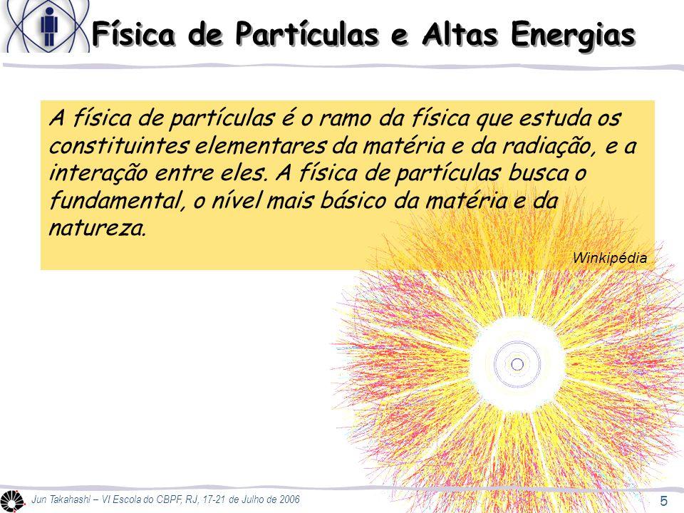 Física de Partículas e Altas Energias