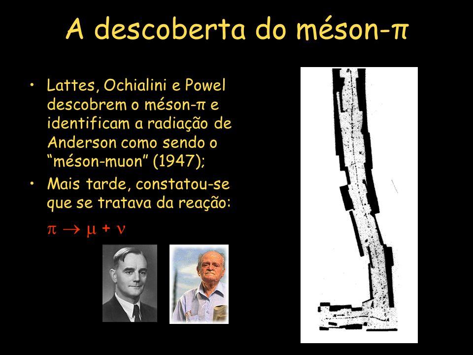 A descoberta do méson-π