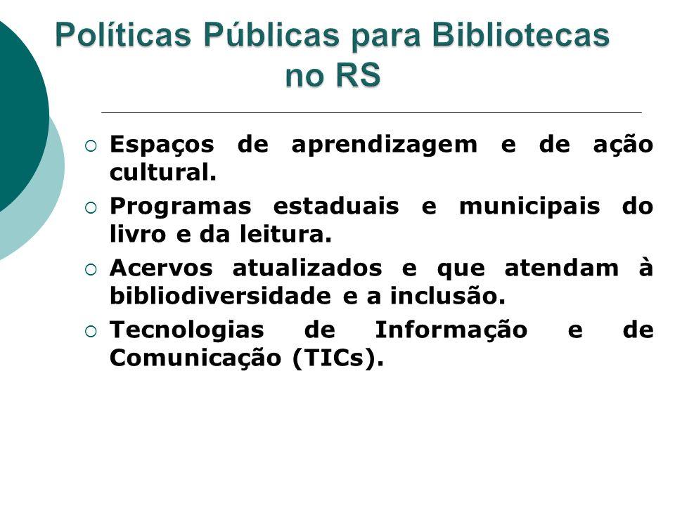 Políticas Públicas para Bibliotecas no RS