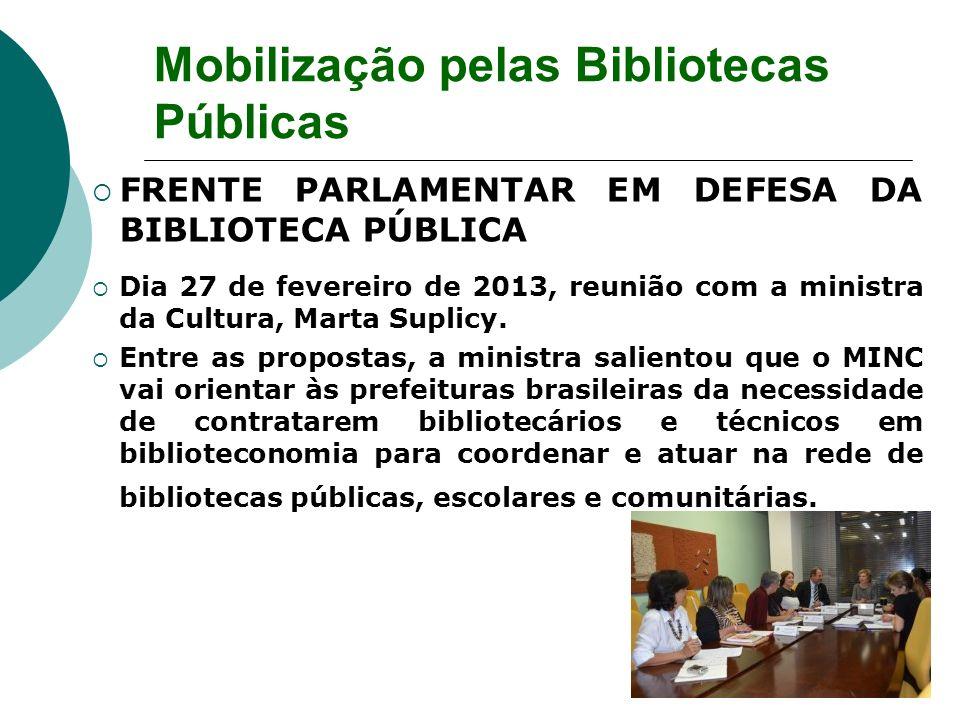 Mobilização pelas Bibliotecas Públicas