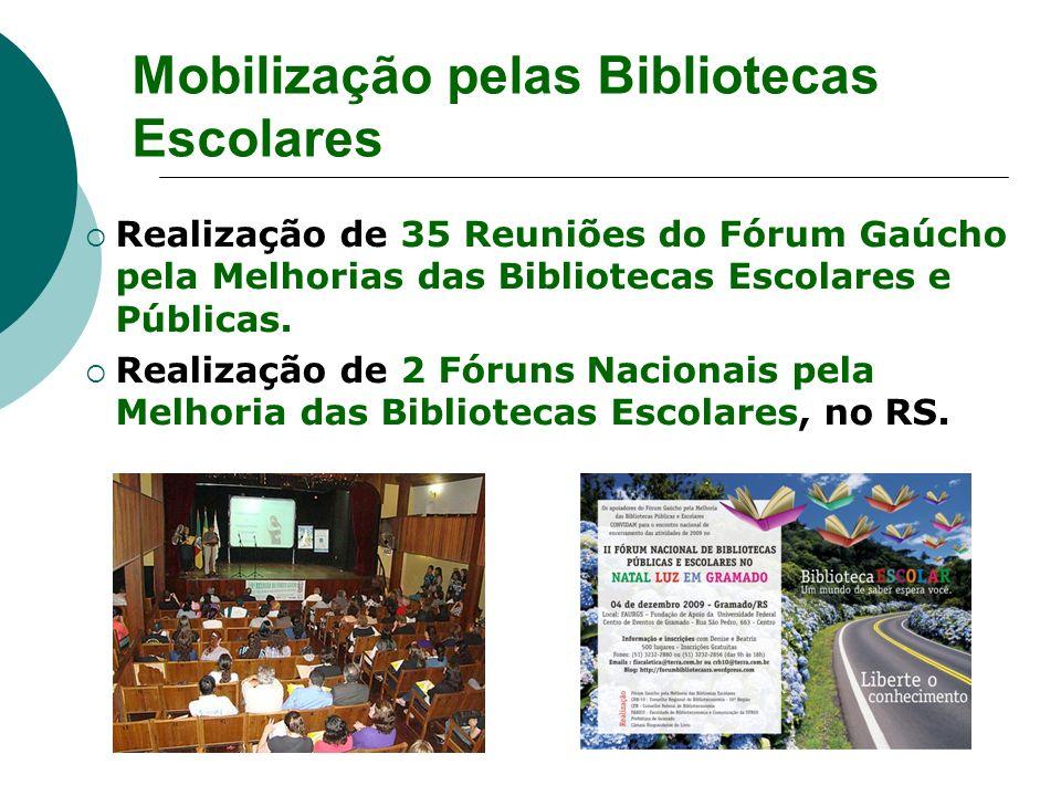 Mobilização pelas Bibliotecas Escolares