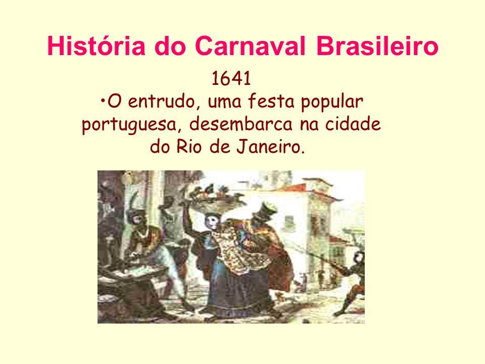 História do Carnaval Brasileiro