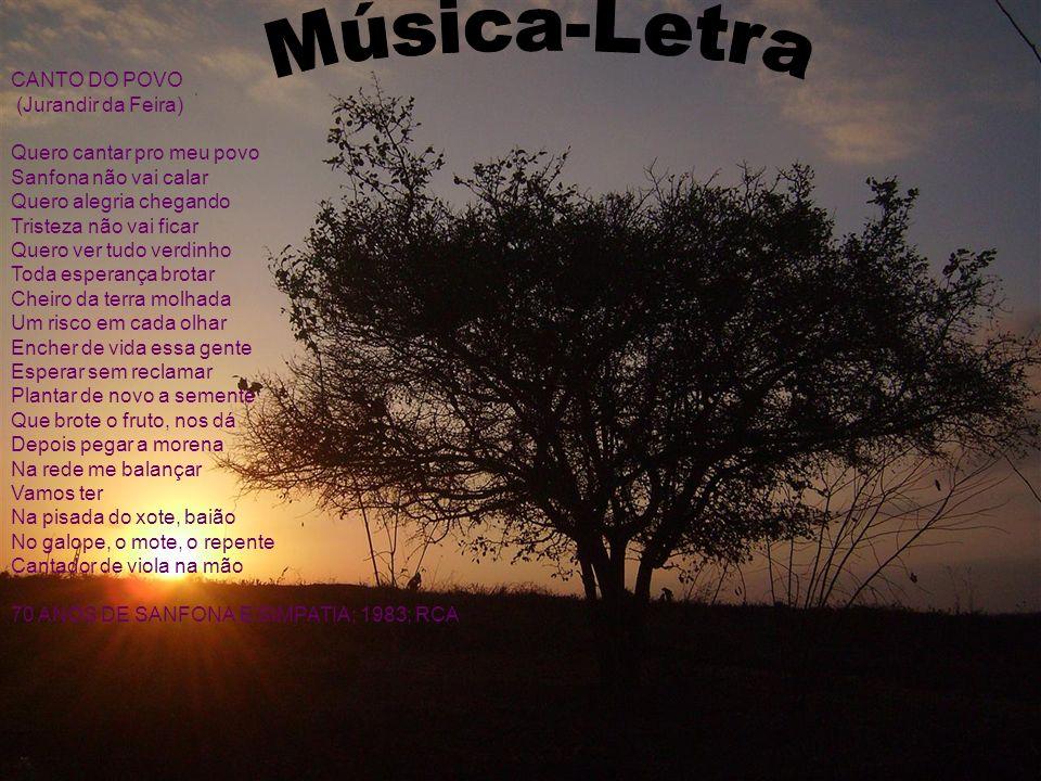 Música-Letra CANTO DO POVO (Jurandir da Feira)