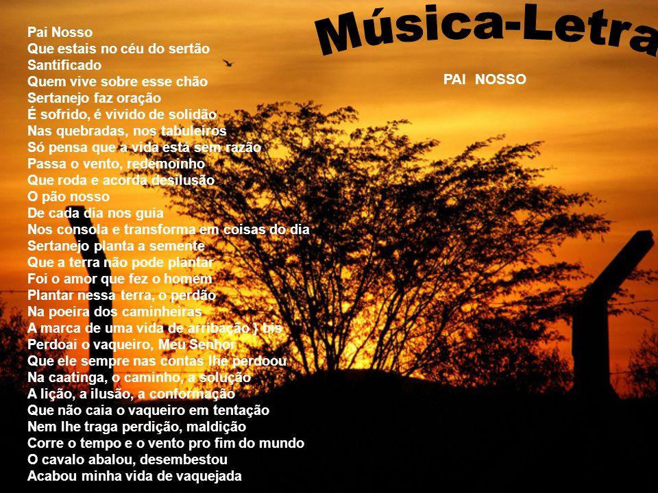 Música-Letra PAI NOSSO