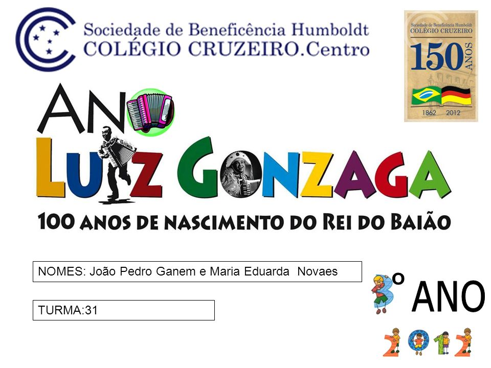 NOMES: João Pedro Ganem e Maria Eduarda Novaes
