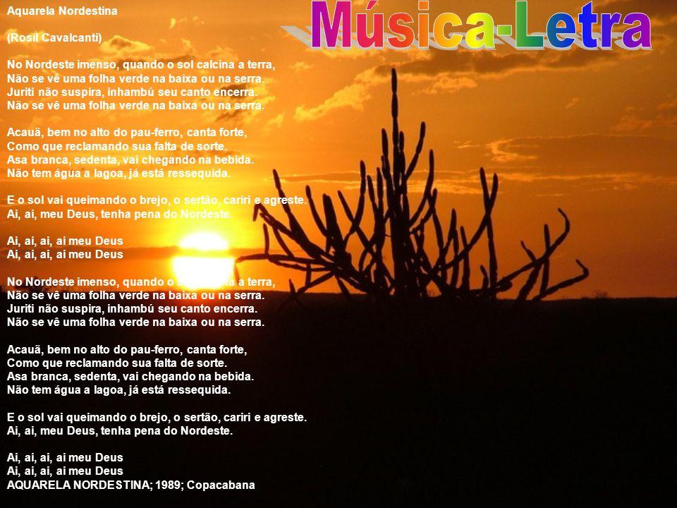 Música-Letra Aquarela Nordestina