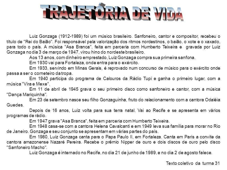 TRAJETÓRIA DE VIDA