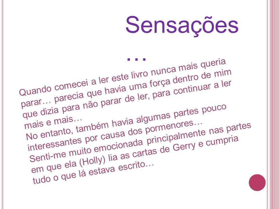Sensações …