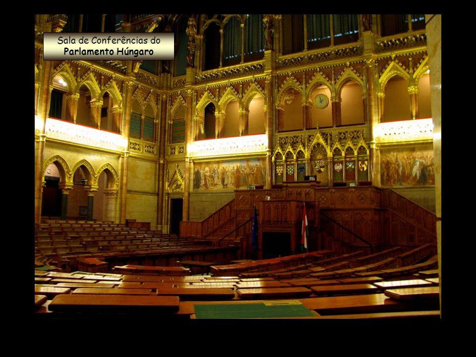 Sala de Conferências do Parlamento Húngaro