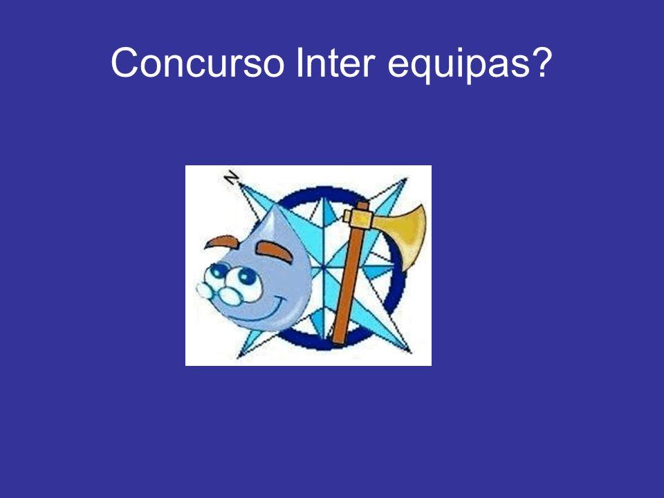 Concurso Inter equipas