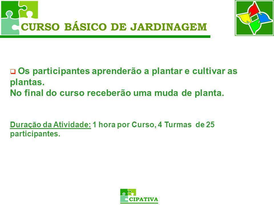 CURSO BÁSICO DE JARDINAGEM