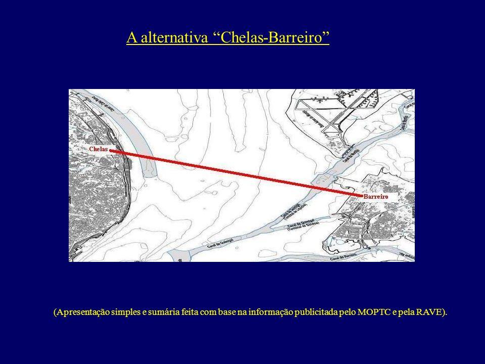 A alternativa Chelas-Barreiro