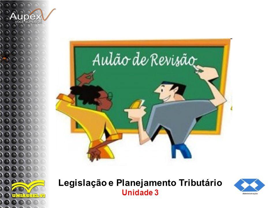 Legislação e Planejamento Tributário