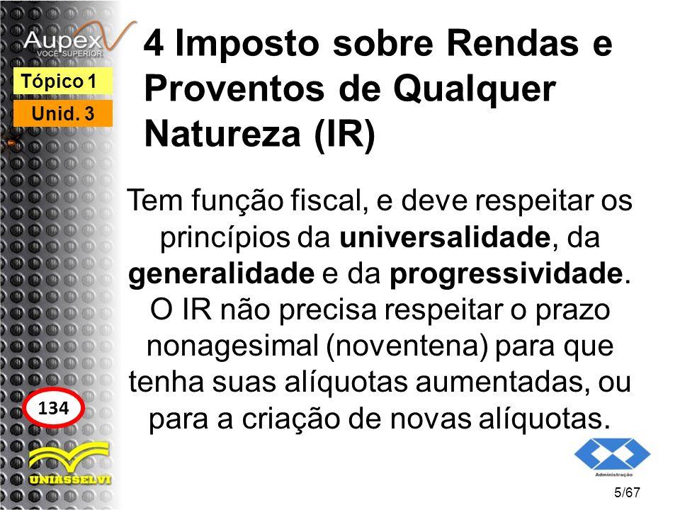 4 Imposto sobre Rendas e Proventos de Qualquer Natureza (IR)